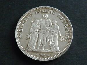 1973 10 Francs Republique Francaise Hercule Silver .900 (LOT 9FC)