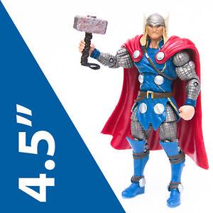 "Marvel Universe 3.75"" Blue THOR Action Figure w' Moljnir | Heroic Age | Free S&H"