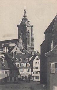 Ansichtskarte Frankreich Colmar im Elsaß Partie beim Münster