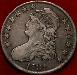 1831 Philadelphia Mint Silver Capped Bust Half Dollar