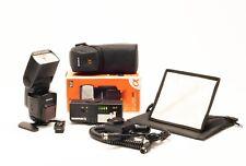 Sony Flash (HVL-F58AM) + Quantum Turbo Battery Pack + Flash Adapter + Light Mod.