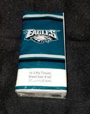 Phillidelphia Eagles NFL Pocket Pack Tissues 15ct