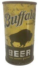 Buffalo flat top beer can