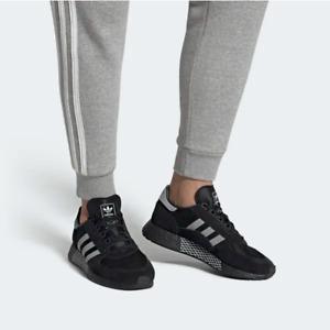 Adidas Originals Marathon Tech Mens Shoes Trainers Black/White EF4398 UK 10.5,11