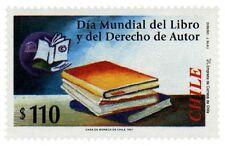 Chile 1997 #1869 Dia Mundial del Libro y del Derecho de Autor MNH
