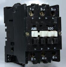 Abb Contactor B30 220V 230V 255V 50 / 60Hz 3 Pole 55A 15kW 30Hp