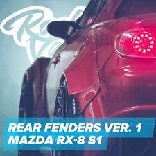 Rear fender flares for mazda rx8 ver 1(Fits: Mazda Rx-8)