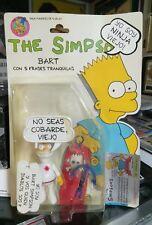 1990 Mattel Ninja Bart Simpsons South America Exclusive Action Figure #/d COA