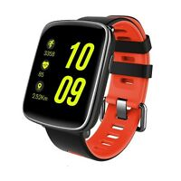 Smart Watch GV68 waterproof IP68 bluetooth compatible Android IOS red