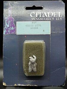 Citadel NAKED CAPTIVE FS7 Metal Miniature Dungeons Dragons Slave Ral Partha Girl