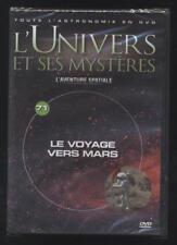 NEUF DVD LE VOYAGE VERS MARS   L UNIVERS ET SES MYSTÈRES N°71  ASTRONOMIE ESPACE