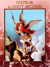 Novena to Saint Michael 12 Pages with Illustrations Cromo NB Printed in Italy