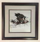 Eagles Flight Bev Doolittle Beautifully Matted Framed Print Excellent Condition