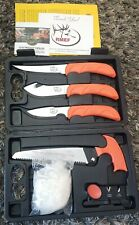 Outdoor Edge Elk Pak Game Processing Kit With Case RMEF Elk Hunting Knife Knives