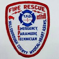 Tampa Fire Department Rescue Paramedic Hillsborough County Florida FL Patch (A3)