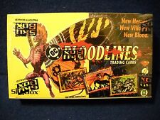 1993 DC COMICS BLOODLINES TRADING CARDS FACTORY SEALED WAX BOX  SKYBOX (36 Pks)