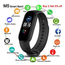 M5 Banda Inteligente Pulsera IP67 Impermeable smarthwatch la presión arterial Fitness
