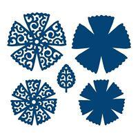 Lacy Chrysanthemum: Tattered Lace Metal Die Paper Card Cut Stephanie Weightman