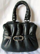 ***BORSA donna VINTAGE BAG a MANO Vera pelle Genuine Leather chiusura a scatto