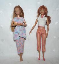 Lot of 3 HAPPY FAMILY MIDGE BABY RARE PJ's & Shopping Fun Midge Barbie Doll