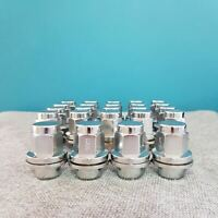 Silver Shank Wheel Steel Nuts Lug Nuts Set M14x1.5 for Holden Commodore VE