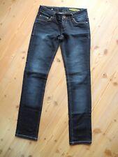DANIEL STERN Denim Damen stretch Jeans slim skinny Hüfthose S 36 W27 L32 blau