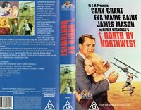 NORTH BY NORTHWEST- Hitchcock - VHS - N&S - PAL - Original Oz sell-thru release