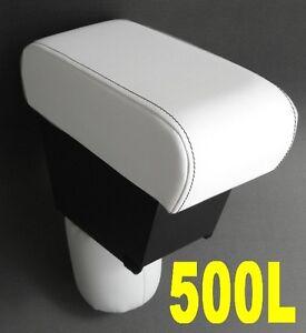 Bracciolo Premium per FIAT 500L colore BIANCO - MADE IN ITALY-appoggiabraccio-@