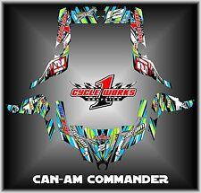 Can-am Commander 800 1000 Canam Can am  SEMI CUSTOM GRAPHICS KIT CW1