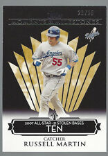 Russell Martin 2007 Topps Moments & Milestones Card # 133