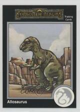 1992 Tsr Advanced Dungeons & Dragons Silver Allosaurus #10 1k3