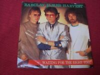 "Barclay James Harvest:   Waiting   EX+    7""  Signed??"