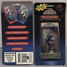Black Cat 1996 Marvel Access Tags Unopened Pack Looks Like Backstage Passes