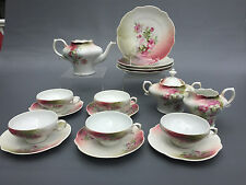 Antique H J & Co. Bavaria, porcelain tea / luncheon set 1890's 1900's