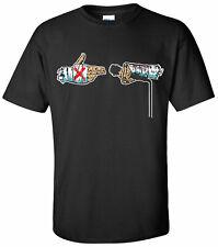 CM PUNK Run the mic T-shirt - XS-XXXL - M/F