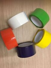 Parcel Packing Tape Assorted Color Packing Packaging Select Color & Qty