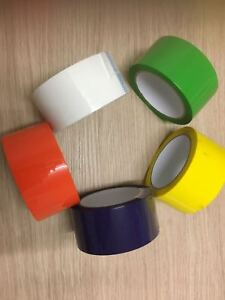 Parcel Packing Tape Assorted Color Packing Packaging Select Color & Quantity