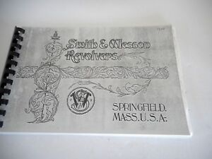 Smith & Wesson Revolvers: Pocket, Military, Target Catalog-Reprint, Spiral Bnd