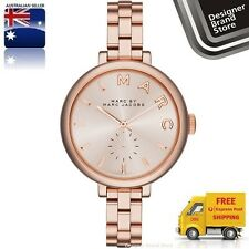 Marc Jacobs Women's 36mm Rose Gold Gold Plated Stainless Steel Watch MBM3364