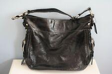 $395 COACH F0926 - F12776 Zoe Black Patent Leather Zoe Hobo Bag GREAT CONDITION!