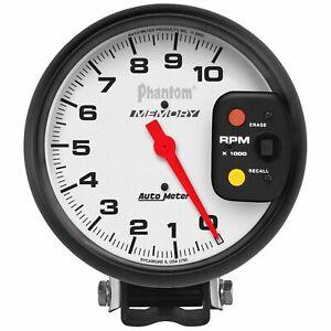 Auto Meter For Phantom Series 5inSize 0-10000Rpm Analog Pedestal Tachometer 5795