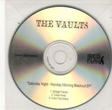 (BY679) The Vaults, Saturday Night Monday Morning Blackout EP - DJ CD