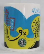 Vintage Starbucks Made In JAPAN 2005 OSAKA Ferris Wheel, Fish, Eye Coffee Mug
