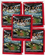 Brazil 2011 Panini Soccer Cup Campeonato Petrobras Chile Pack x5