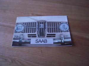 Saab Car Brochure 1965