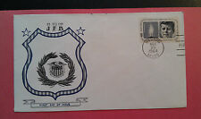 Kennedy Memorial Covers (3) 1964  ABC Boerger Cachets 1st Day Sale