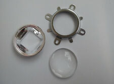 5 sets 50mm 90 Degree LED Lens+ Bracket + Reflector for High Power LED Emiter