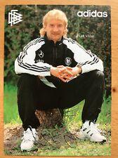 Rudi Völler AK DFB 1994 AUTOGRAFO carta firmato originale