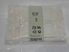 6x Ikea Ogonljus Flower Embossed Blank Cards & Envelopes Wedding Stationery
