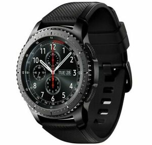 Samsung Gear S3 frontier SM-R765A 46mm Stainless steel Case Gray Smart Watch (AT